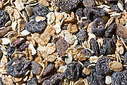 Organic fruit and nut muesli