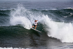 Jake Marshall of USA advances to round 4 after placing second in round 3 heat 9 ​of the 2018 Hawaiian Pro at Haleiwa, Oahu, Hawaii, USA.