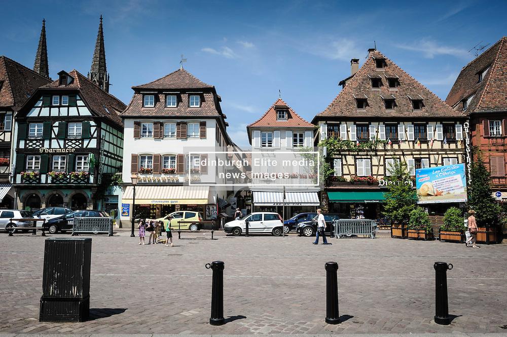 Place de Marché, Obernai, Alsace, France<br /> <br /> (c) Andrew Wilson | Edinburgh Elite media