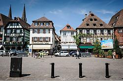 Place de March&eacute;, Obernai, Alsace, France<br /> <br /> (c) Andrew Wilson   Edinburgh Elite media