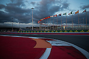 October 8, 2015: Russian GP 2015: Sochi Grand Prix track detail