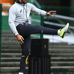 Damian de Allende of South Africa during the South African - Springbok Captain's Run at DHL Newlands Stadium. Cape Town.South Africa. 22,06,2018 23,06,2018 Photo by (Steve Haag JMP)