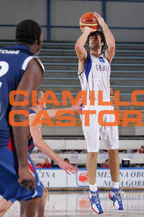 DESCRIZIONE : Gorizia Nova Gorica U20 European Championship Men Campionato Europeo<br /> GIOCATORE : Milos Teodosic <br /> SQUADRA : Serbia<br /> EVENTO : Gorizia Nova Gorica U20 European Championship Men Campionato Europeo<br /> GARA : Serbia Francia France<br /> DATA : 08/07/2007<br /> CATEGORIA : Tiro<br /> SPORT : Pallacanestro <br /> AUTORE : Agenzia Ciamillo-Castoria/S.Silvestri
