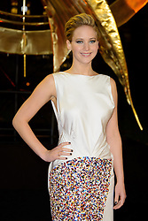 Jennifer Lawrence at The World Premiere of 'The Hunger Games: Catching Fire'. Leicester Square, London, United Kingdom. Monday, 11th November 2013. Picture by Chris Joseph / i-Images