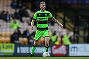 Forest Green Rovers Carl Winchester(7) during the EFL Sky Bet League 2 match between Port Vale and Forest Green Rovers at Vale Park, Burslem, England on 23 March 2019.