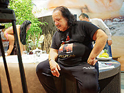 Berlin, Germany - 18 October 2012<br /> Porn star Ron Jeremy promoting his 'Ron Jeremy' brand of rum at the Venus Berlin 2012 adult industry exhibition in Berlin, Germany. Ron Jeremy, born Ronald Jeremy Hyatt, has been an American pornographic actor since 1979. He faces sexual assault allegations which he strenuously denies. There is no suggestion that any of the people in these pictures have made any such allegations.<br /> www.newspics.com/#!/contact<br /> (photo by: EQUINOXFEATURES.COM)<br /> Picture Data:<br /> Photographer: Equinox Features<br /> Copyright: &copy;2012 Equinox Licensing Ltd. +448700 780000<br /> Contact: Equinox Features<br /> Date Taken: 20121018<br /> Time Taken: 12044310