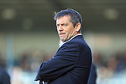 Phil Brown during the Sky Bet League 1 match between Rochdale and Southend United at Spotland, Rochdale, England on 25 March 2016. Photo by Daniel Youngs.