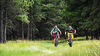 The Green Belt Trails of Angel Fire with Syd Schulz and Macky Franklin, New Mexico.