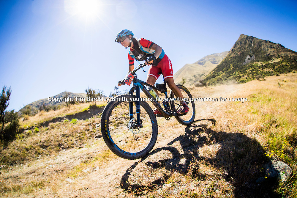 3 February, Stage 4. The Pioneer Mountain Bike stage race from Christchurch to Queenstown held over 7 Stages from 30 January to 6 Februrary 2016.