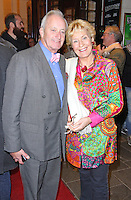 Neil Hamilton & Christine Hamilton, Urine Town - Gala Night, Apollo Theatre, London UK, 20 October 2014, Photo By Brett D. Cove