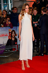 Ruta Gedmintas arriving at the World Premiere of A Street Cat Named Bob at the Curzon Mayfair on November 3 2016 in London. EXPA Pictures © 2016, PhotoCredit: EXPA/ Avalon/ Famous<br /> <br /> *****ATTENTION - for AUT, SLO, CRO, SRB, BIH, MAZ, SUI only*****