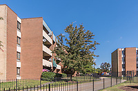Exterior photo of Courts at Walker Mill Apartments  in Washington DC by Jeffrey Sauers of Commercial Photographics, Architectural Photo Artistry in Washington DC, Virginia to Florida and PA to New England