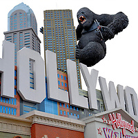 King Kong on Hollywood Wax Museum in Branson, Missouri<br />
