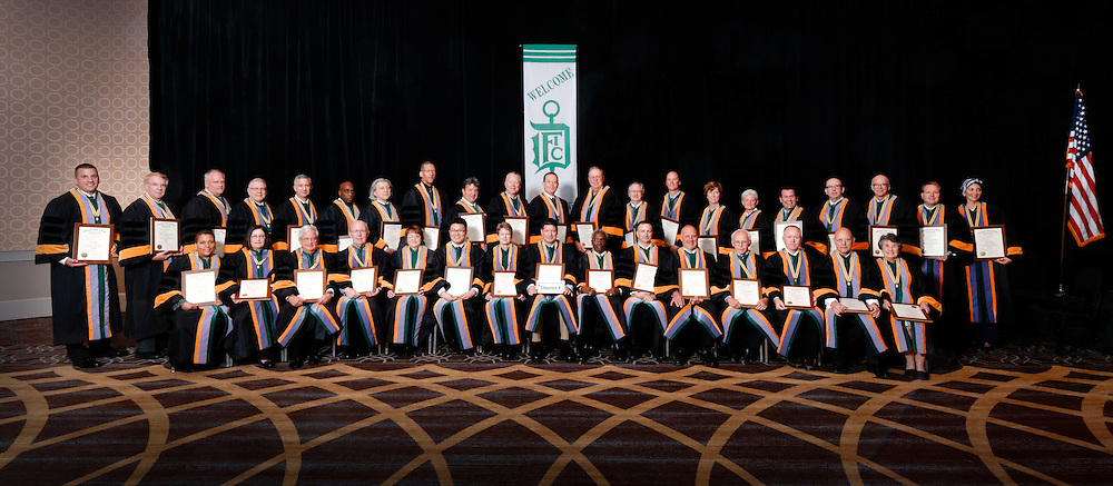 International College of Dentists district groups at convocation