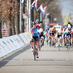 12-04-2019: Wielrennen: Healthy Ageing Tour: Musselkanaal<br /> Kirsten Wild wint de etappe