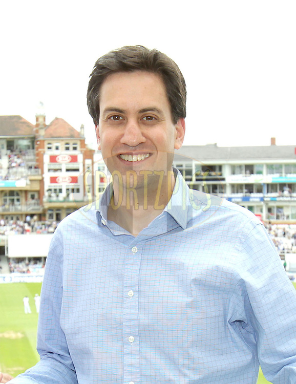 © Andrew Fosker / Seconds Left Images 2012 - Labour Leader Ed Miliband  at - England v South Africa - 1st Investec Test Match -  Day 3 - The Oval  - London - 21/07/2012