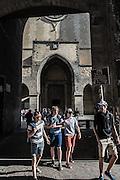 Naples, Decumani area, Santa Chiara church