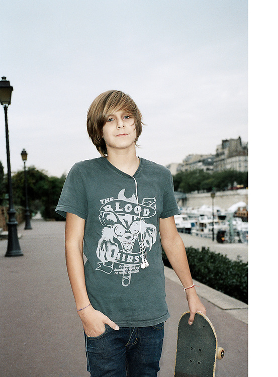 Young Skater in Paris
