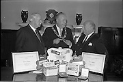 21/02/1963.02/21/1963.21 February 1963.Lord Mayor of Dublin visits Williams and Woods.