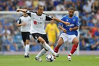 Fotball<br /> England<br /> Foto: Fotosports/Digitalsport<br /> NORWAY ONLY<br /> <br /> Bobby Zamora (Fulham) <br /> <br /> 15.08.09 Portsmouth v Fulham Barclays Premier League Fratton Park