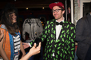 CHARLOTTE COLBERT; PHILIP COLBERT, Gazelli host The Colbert Art Party last night at  LouLou's, The Bauer in Venice, Venice Biennale, Venice. 7 May 2015