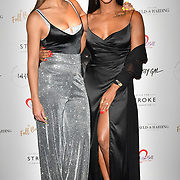 Sarah-Jane Crawford, Alexandra Burke attends gala dinner and concert to raise money and awareness for the Melissa Bell Foundation and Style For Stroke Foundation. 14 October 2018.