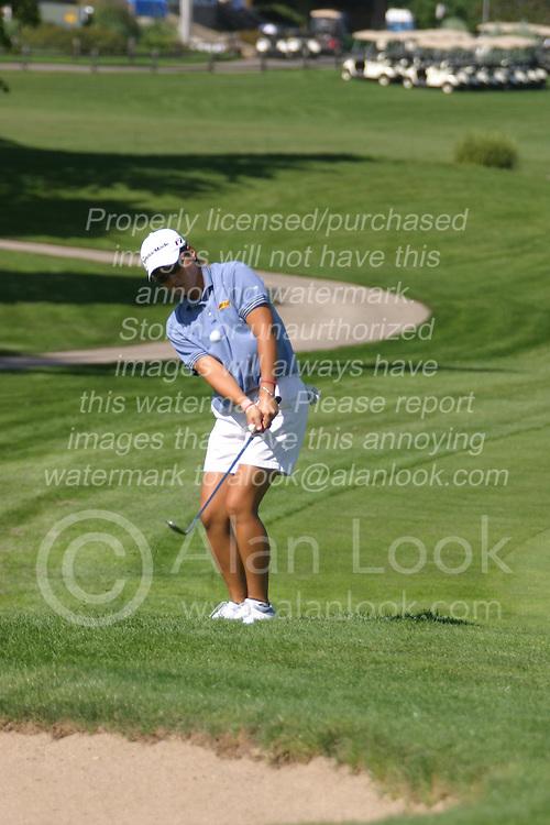 Jenny Park-Choi<br /> State Farm Classic, LPGA Event practice. The Rail golf course, Sherman IL.  Final tournament winner was Cristie Kerr.