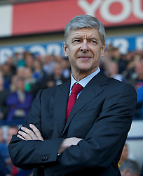 WEST BROMWICH, ENGLAND - Saturday, March 19, 2011: Arsenal's manager Arsene Wenger before the Premiership match against West Bromwich Albion at the Hawthorns. (Photo by David Rawcliffe/Propaganda)