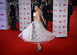 Anna Friel arriving for the Virgin TV British Academy Television Awards 2017 held at Festival Hall at Southbank Centre, London. PRESS ASSOCIATION Photo. Picture date: Sunday May 14, 2017. See PA story SHOWBIZ Bafta. Photo credit should read: Matt Crossick/PA Wire