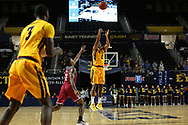 November 22, 2017 - Johnson City, Tennessee - Freedom Hall: ETSU guard Kanayo Obi-Rapu (0)<br /> <br /> Image Credit: Dakota Hamilton/ETSU