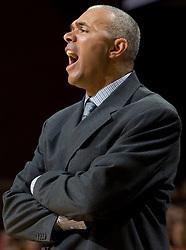 Virginia head coach Dave Leitao..The #23 Virginia Cavaliers men's basketball team defeated Drexel Dragons 72-58 at the John Paul Jones Arena in Charlottesville, VA on November 20, 2007.