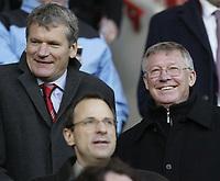 Photo: Aidan Ellis.<br /> Sheffield United v Manchester United. The Barclays Premiership. 18/11/2006.<br /> Man Utd manager Alex Ferguson