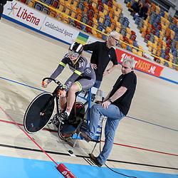 18-12-2016: Wielrennen: NK baanwielrennen: Apeldoorn   <br /> APELDOORN (NED) wielrennen   <br /> Shanne Braspennicx in actie tijdens de 500 meter kwalificatie