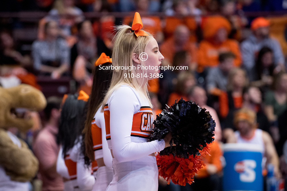 BUIES CREEK, NC - March 5th, 2017 - Campbell Camels and Winthrop  Big South Tournament at Gilbert Craig Gore Arena in Buies Creek, NC. Photo By Bennett Scarborough