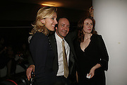 Kevin Spacey, Catherine Tate and Kate Pakenham, The 25th hour post party at the Plaza on the River, 18 Albert Embankment. Culmination of the 24 Hour Plays Celebrity Gala at the Old Vic.London. 8 October 2006.  -DO NOT ARCHIVE-© Copyright Photograph by Dafydd Jones 66 Stockwell Park Rd. London SW9 0DA Tel 020 7733 0108 www.dafjones.com