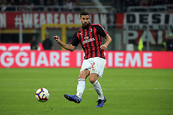 March 2, 2019 - Milan, Milan, Italy - Mateo Musacchio #22 of AC Milan in action during the serie A match between AC Milan and US Sassuolo at Stadio Giuseppe Meazza on March 02, 2019 in Milan, Italy. (Credit Image: © Giuseppe Cottini/NurPhoto via ZUMA Press)