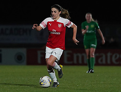 February 20, 2019 - Borehamwood, Hertfordshire, United Kingdom - Danielle Van De Donk of Arsenal during the FA Women's Super League football match between Arsenal Women and Yeovil Town L.F.C.at Meadow Park on February 20, 2019 in Borehamwood, England. (Credit Image: © Action Foto Sport/NurPhoto via ZUMA Press)