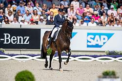 Schneider Dorothee, GER, Showtime<br /> CHIO Aachen 2019<br /> Weltfest des Pferdesports<br /> © Hippo Foto - Stefan Lafrentz<br /> Schneider Dorothee, GER, Showtime