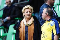 Christine Dulac Rougerie - 18.04.2015 - Clermont / Saracens - 1/2Finale European Champions Cup<br />Photo : Jean Paul Thomas / Icon Sport