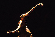 Sadler's Wells Theatre, London presents an evening of works by three choreographers: Edwaard Liang, Russell Maliphant & Christopher Wheeldon. Featuring Chinese prima ballerina Yuan Yuan Tan and Taiwanese virtuoso Fang-Yi Sheu, and San Francisco principal dancer Damian Smith. Picture shows Fang-Yi Sheu in PresentPast by Russell Maliphant.