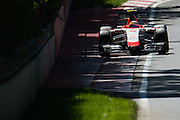 June 5-7, 2015: Canadian Grand Prix: Roberto Merhi (SPA) Manor Marussia F1 Team