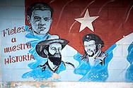 Image of Ernesto Che Guevara in Antilla, Holguin, Cuba.