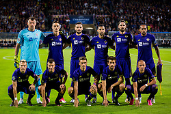Players of NK Maribor during group E football match between NK Maribor and Spartak Moscow in 1st Round of UEFA Champions League, on Septebmer 13, 2017 in Ljudski vrt, Ljubljana, Slovenia. Photo by Ziga Zupan<br />  / Sportida