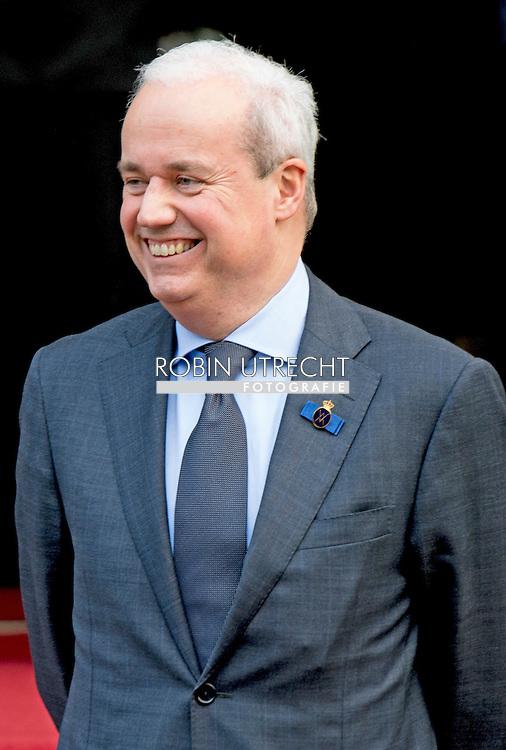 AMSTRERDAM - Nederlandse hofhouding - hofmaarschalk Sjoert Klein Schiphorst COPYRIGHT ROBIN UTRECHT