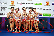 The Azerbaijan Group at World Cup of Pesaro 2017.