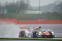 Bert Longin (BEL) / Giorgio Maggi (CHE) / Marcello Marateotto (CHE)  #8 Race Performance, Ligier JS P3, Nissan VK50VE 5.0 L V8, European Le Mans Series, Round 1, at Silverstone, Towcester, Northamptonshire, United Kingdom. April 15 2016. World Copyright Peter Taylor/PSP.