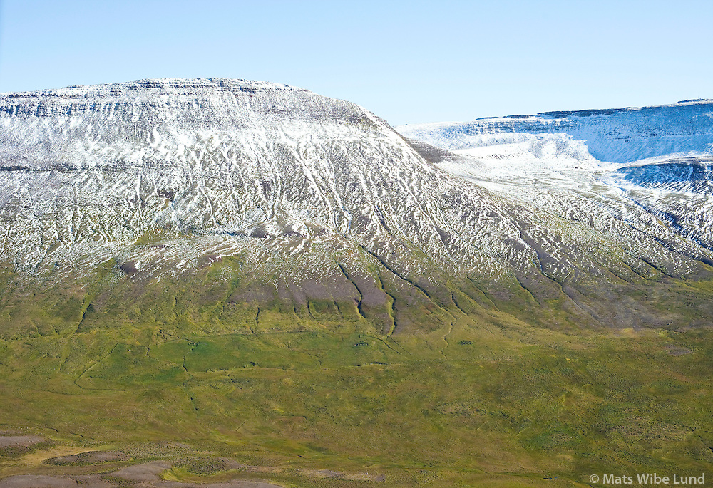 Fjall remote farmsite viewing east, Skagabyggd former Skagahreppur