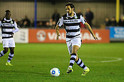 Forest Green Rovers Darren Carter(12) runs forward during the Vanarama National League match between Solihull Moors and Forest Green Rovers at the Automated Technology Group Stadium, Solihull, United Kingdom on 25 October 2016. Photo by Shane Healey.