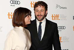 Actor Chris O'Dowd and wife Dawn Porter attends 'The Sapphires' premiere during the 2012 Toronto International Film Festival at The Elgin, Sunday September 9th, 2012. Photo by David Tabor/i-Images.