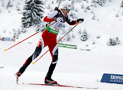 18.12.2011, Biathlonzentrum, Hochfilzen, AUT, E.ON IBU Weltcup, 3. Biathlon, Hochfilzen, Mix Staffel, im Bild Dominik Landertinger (AUT) // during Mixed Relay E.ON IBU World Cup 3th Biathlon, Hochfilzen, Austria on 2011/12/18. EXPA Pictures © 2011, PhotoCredit: EXPA/ Oskar Hoeher